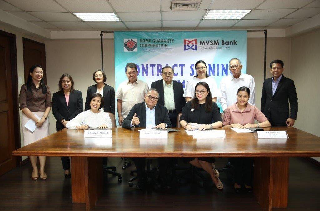 MVSM partners with Home Guarantee Corporation